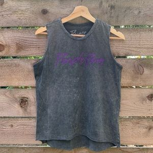 "Prince ""purple rain"" Distressed Band Tank"